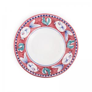 Insalatiera in ceramica dipinta a mano