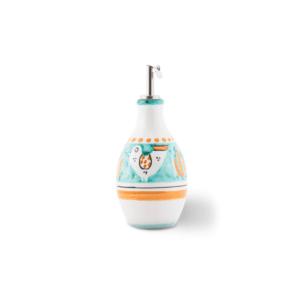 Handmade pottery small oil bottle| Ceramica Assunta Positano