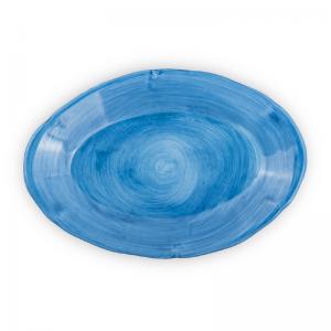 Pottery oval dinner plate| Ceramica Assunta Positano