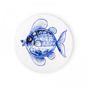 Dinner plate Fish Sea Collection