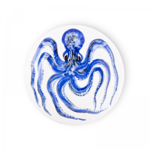 Dinner plate Octopus Sea Collection