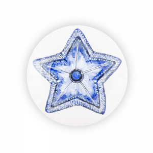 Dinner plate Starfish Sea Collection