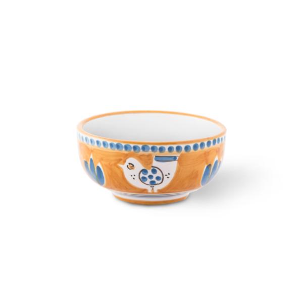 Tazzone senza manico in ceramica dipinto a mano