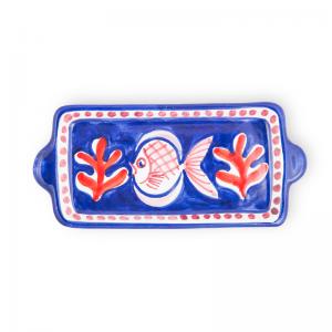 Handmade pottery mini tray| Ceramica Assunta Positano