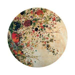 Tavola in pietra dipinta a mano