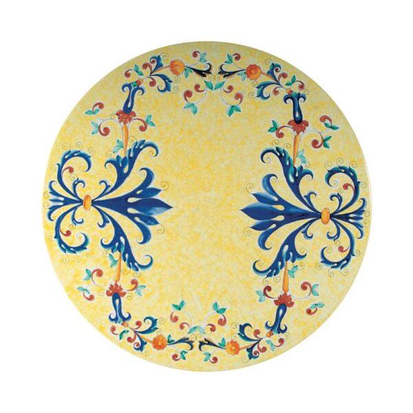 Tavolo dipinto a mano in pietra