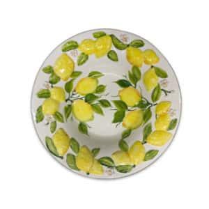 Insalatiera Limoni 40 cm | Ceramica Assunta Positano