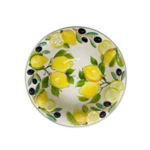 Insalatiera Limoni e Olive 27 cm