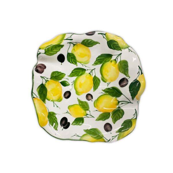 Insalatiera Stella Limoni e Olive