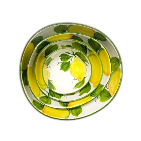 Set 4 Ciotole Giada Limoni