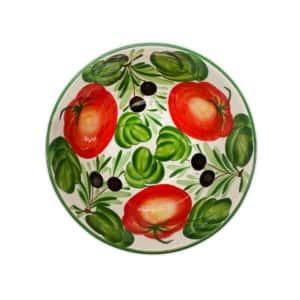 Insalatiera Olive e Peperoni 27x13 cm