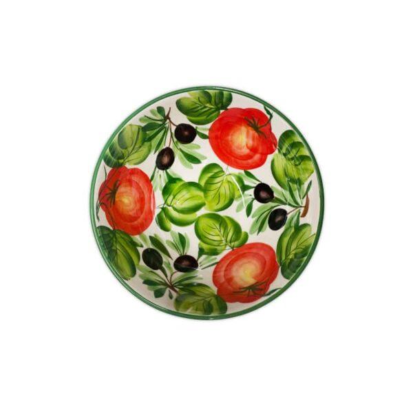 Insalatiera Olive e Peperoni 22x10 cm