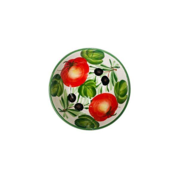 Insalatiera Olive e Peperoni 17x8 cm
