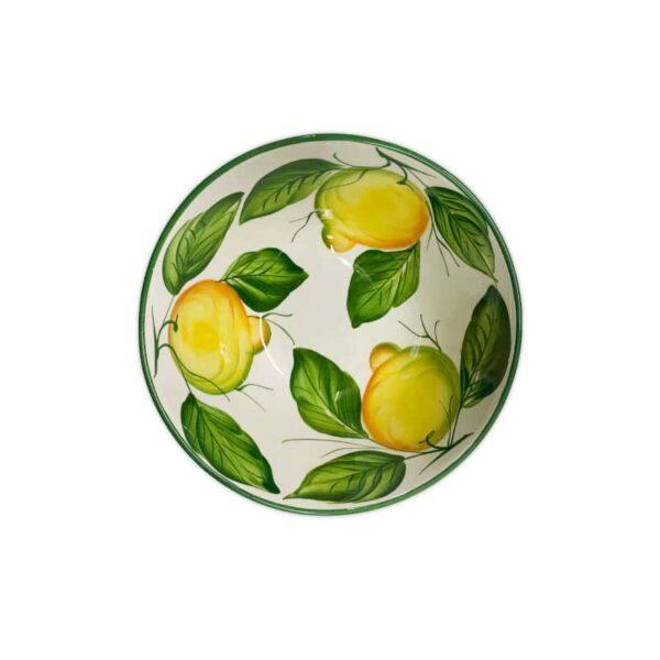 Insalatiera Limoni 22x10 cm
