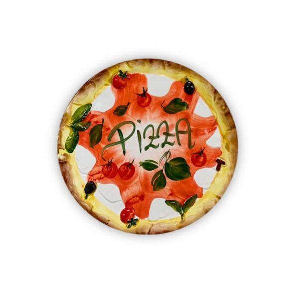 Piatto PIZZA in ceramica dipinta a mano | Ceramica Assunta Positano