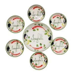 Set Spaghetti | Ceramica Assunta Positano