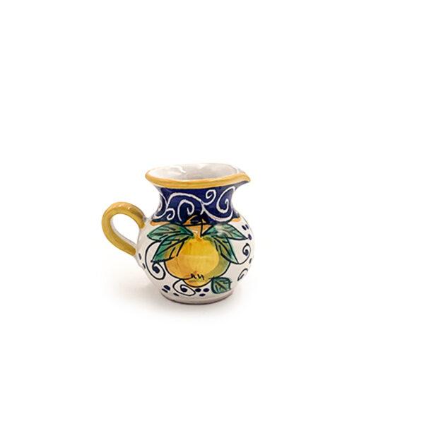 Lattiera in ceramica cm 9