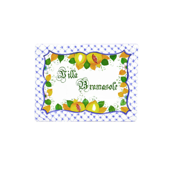 Mattonella personalizzata decoro 4