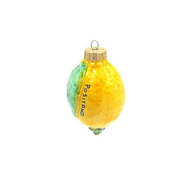Palla di natale limone grande