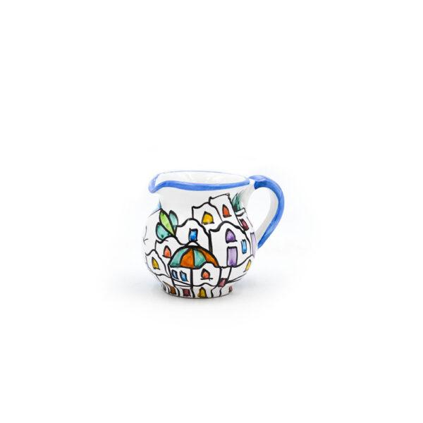 Lattiera in ceramica cm 9 dedalus