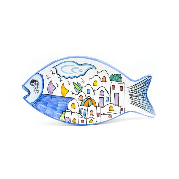 Piatto pesce grande dedalus
