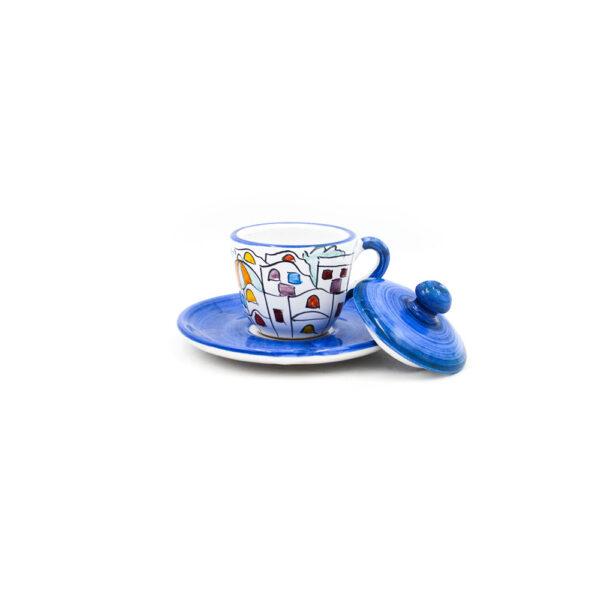 Tazzina caffè con coperchio dedalus