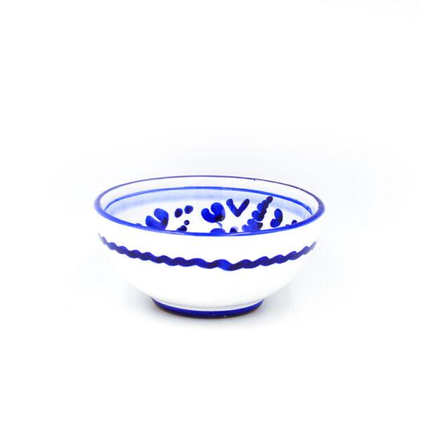Ciotolina cm 10 arabesco blu 2