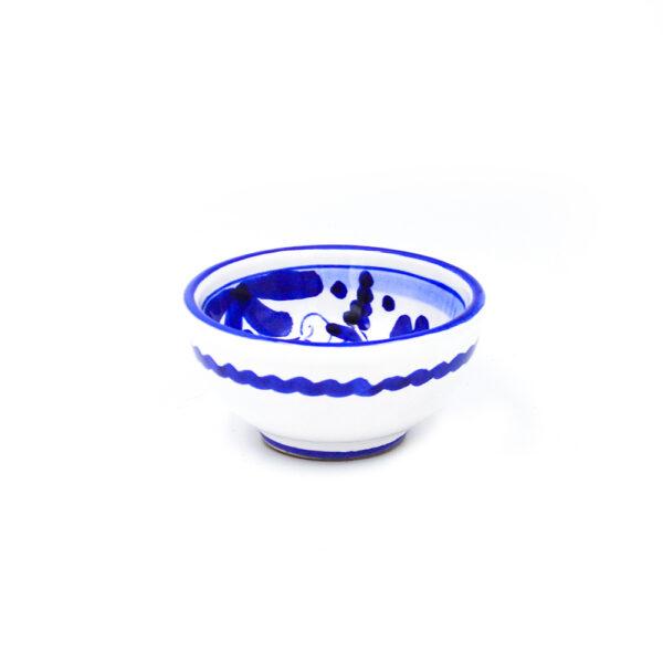Ciotolina cm 7 arabesco blu 2