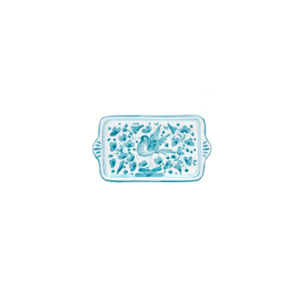 Vassoietto rettangolare cm 17 arabesco