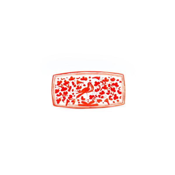 Vassoio sushi cm 20x10 arabesco