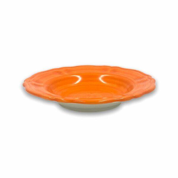 Piatto fondo - Arancio