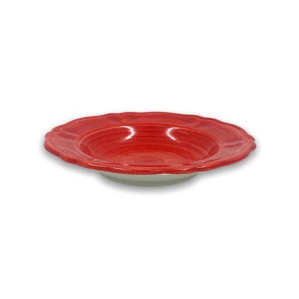 Piatto fondo - Rosso