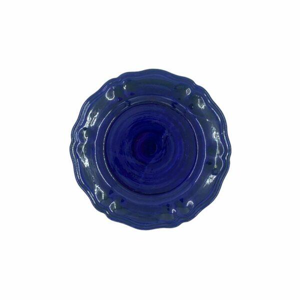 Piatto frutta - Blu