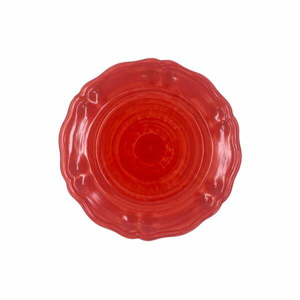 Piatto piano - Rosso