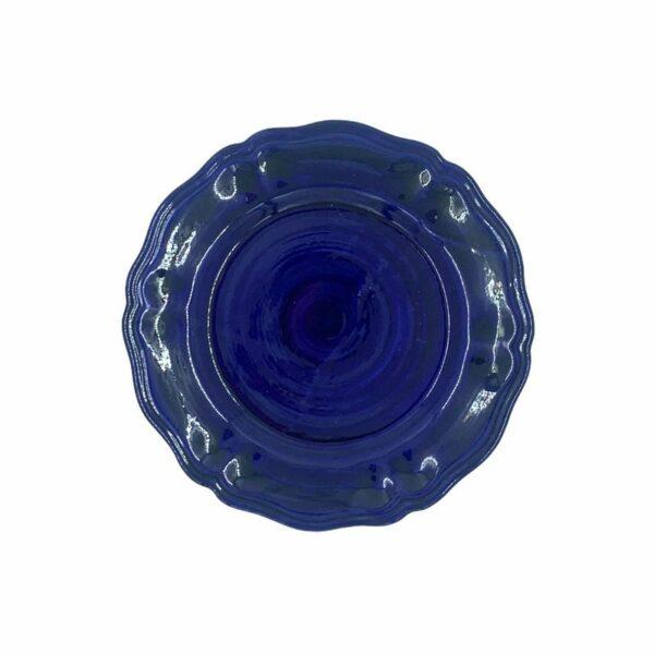 Piatto piano - Blu