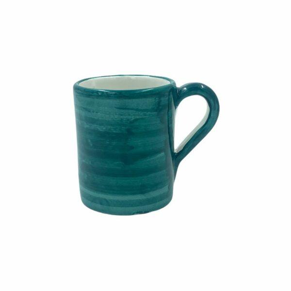 Bicchiere verde acqua