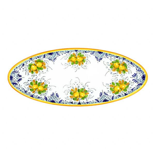 Vassoio ovale grande limoncini