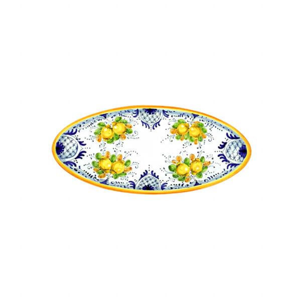 Vassoio ovale piccolo limoncini