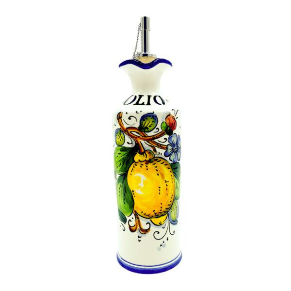 Provetta olio limone blu